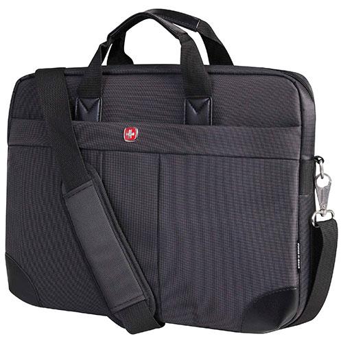 Mallette de Swiss Gear pour portable de 15,6 po - Noir