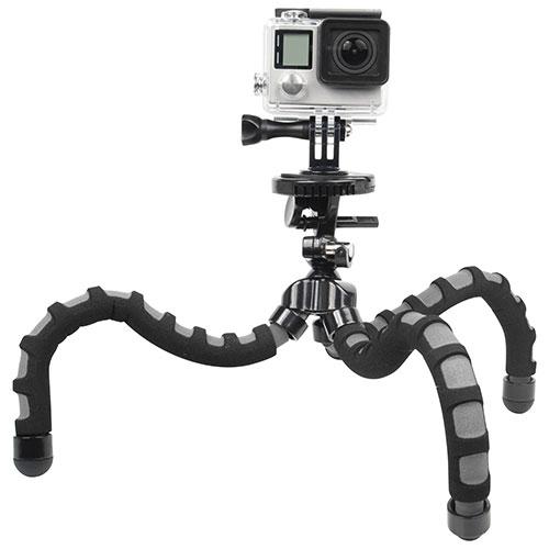 Bower Xtreme Action Series Flex Tripod for GoPro HERO (XAS-BPG) - Black/Grey