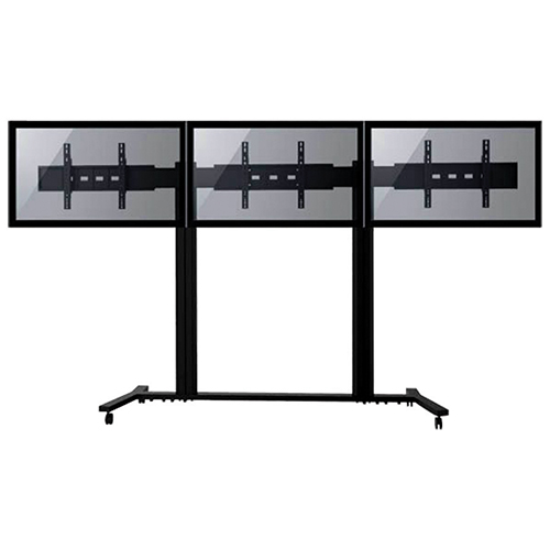 Tyger Claw Fixed Flat Panel TV Stand for 3 TVs (LVW8603)