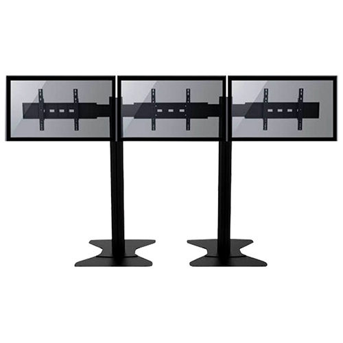 Tyger Claw Fixed Flat Panel TV Stand for 3 TVs (LVW8604)