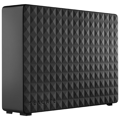 "Seagate Expansion 4TB 3.5"" 5900RPM USB 3.0 External Hard Drive (STEB4000100)"