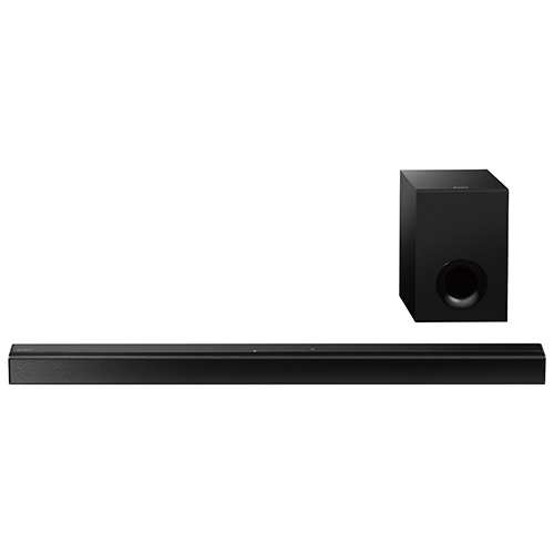 Sony HTCT80 80-Watt 2.1-Channel Sound Bar with Wired Subwoofer - Black
