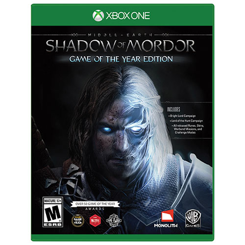 Shadow Of Mordor Game Of The Year Edition (Xbox One)