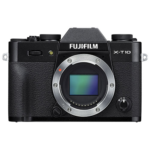 Fuji X-T10 Mirrorless Camera (Body Only)