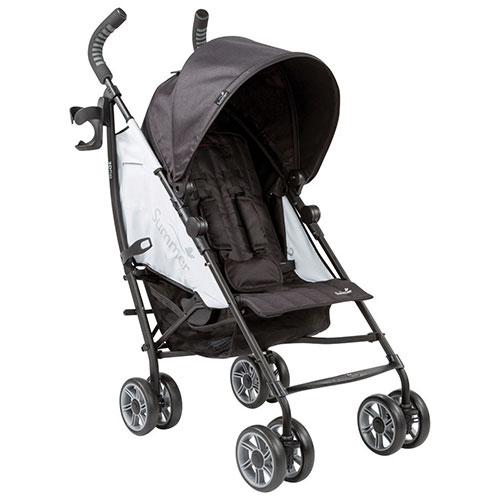 Summer Infant 3Dflip Standard Stroller - Black/Grey