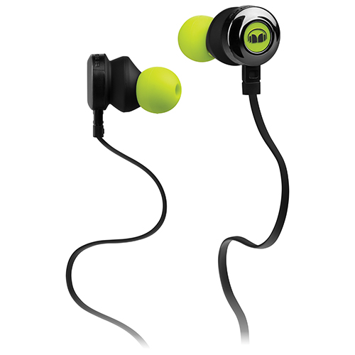Monster Clarity In-Ear Sound Isolating Headphones with Mic (MH CLY IE N-GR CU WW) - Green