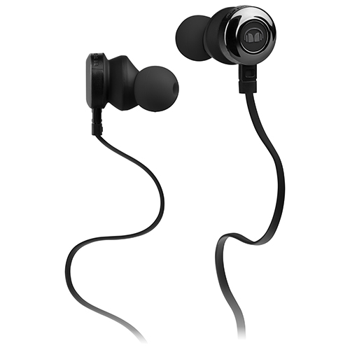 Monster Clarity In-Ear Sound Isolating Headphones with Mic (MH CLY IE BK CU WW) - Black