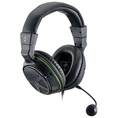 Turtle Beach Ear Force XO SEVEN Over-Ear Gaming Headset for Xbox One - Black