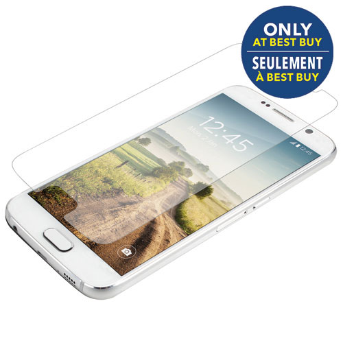 InvisibleShield by ZAGG Galaxy S6 HD Glass UV Screen Protector - Only at Best Buy