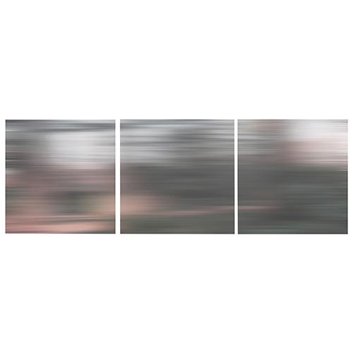 """Nexxt Shutter 12"""" x 12"""" Grey Blur Canvas - 3 Pack"""
