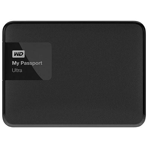 Disque dur portatif externe My Passport Ultra 2,5 po de 500 Go de WD - Noir