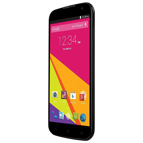 Téléphone intelligent déverrouillé de 4 Go Mobile Studio 6.0 de BLU - Noir