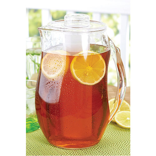 Brilliant 2L Patio Jug with Infuser - Clear