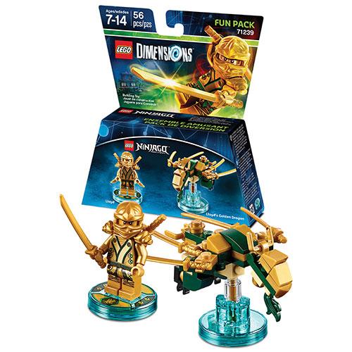 Ensemble amusant LEGO Dimensions : NINJAGO - Lloyd