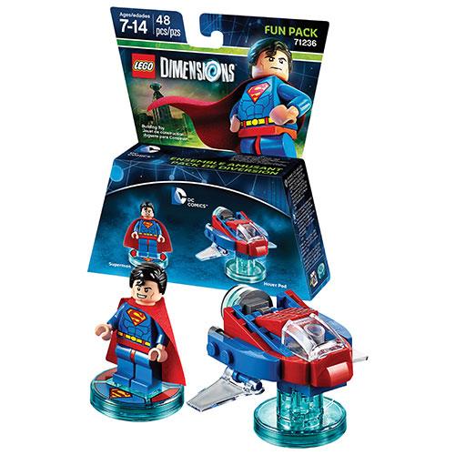Ensemble amusant LEGO Dimensions : DC Comics - Superman