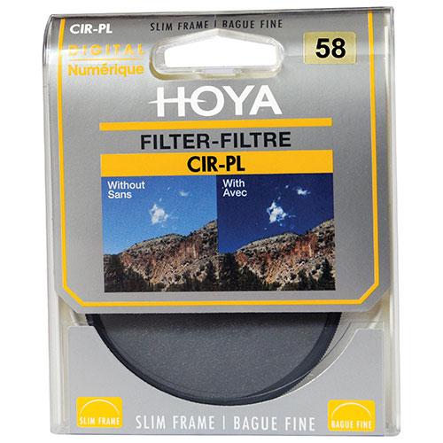 Filtre UV de 58 mm de Hoya pour appareil photo (HY058690)