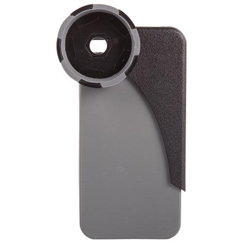 Adaptateur de jumelles HookUpz de Carson pour iPhone 5/5s (IB-542) - Noir