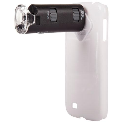Carson MicroMax Plus Galaxy S4 60-100x Microscope Adapter (MM-240) - Black - English