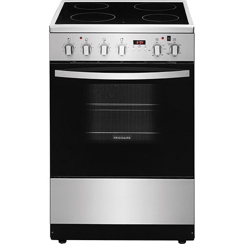 Frigidaire 24 Quot 1 9 Cu Ft Freestanding 4 Element Smooth