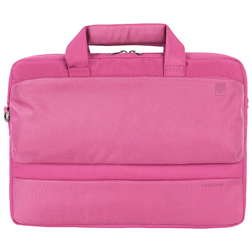 "Tucano Dritta 15"" Slim Laptop Bag (BDR1314-F) - Fuchsia"