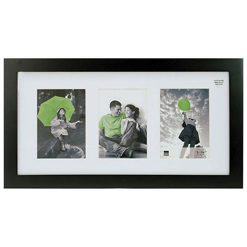 Kiera Grace Langford Collage Photo Frame (PH00349-2FF) - Black
