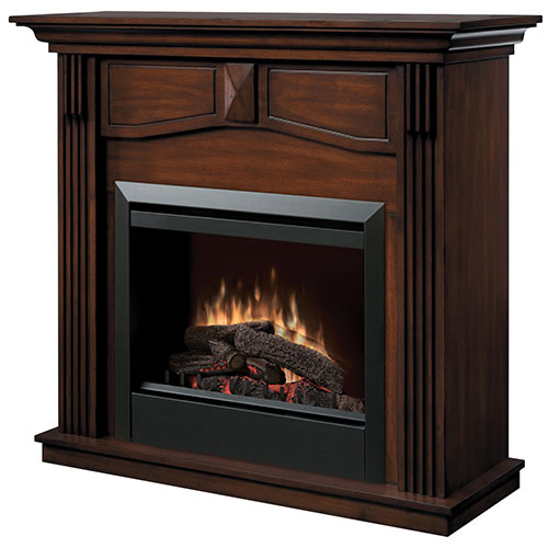 Dimplex Holbrook Freestanding Electric Fireplace (DFP4765BW) - Burnished Walnut