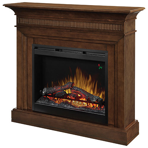 Dimplex Harleigh Freestanding Electric Fireplace (DFP26L-1475WN) - Walnut