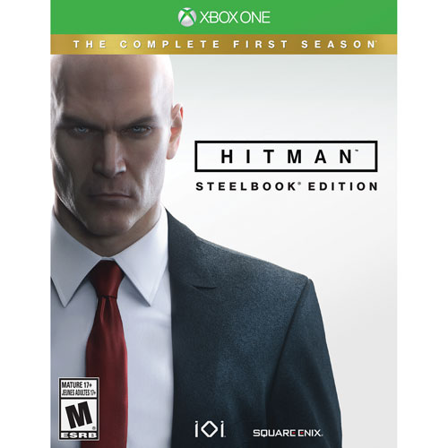 Coffret SteelBookMC de Hitman (Xbox One)