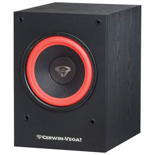 "Cerwin Vega SL10S 10"" 212-Watt Powered Subwoofer"