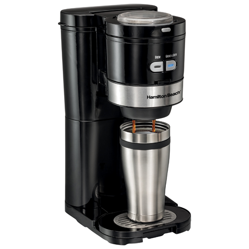 Cuisinart Coffee Maker Filter Canadian Tire : Hamilton Beach Single Serve Grind & Brew Coffee Maker (49989C) - Black/Stainless : Coffee Makers ...