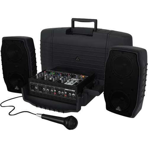 Behringer EUROPORT 5-Channel Portable PA System (PPA200)