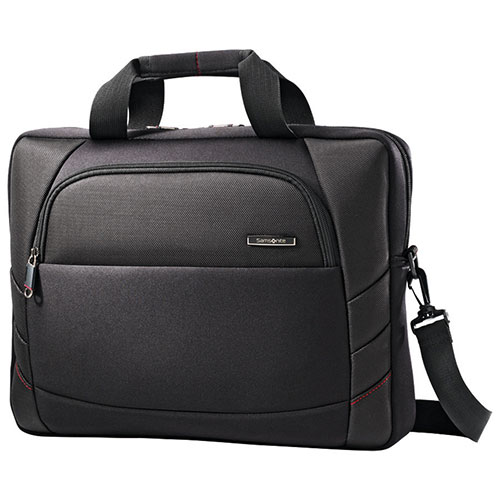 "Samsonite Xenon 2 15.6"" Laptop Slim Brief - Black"