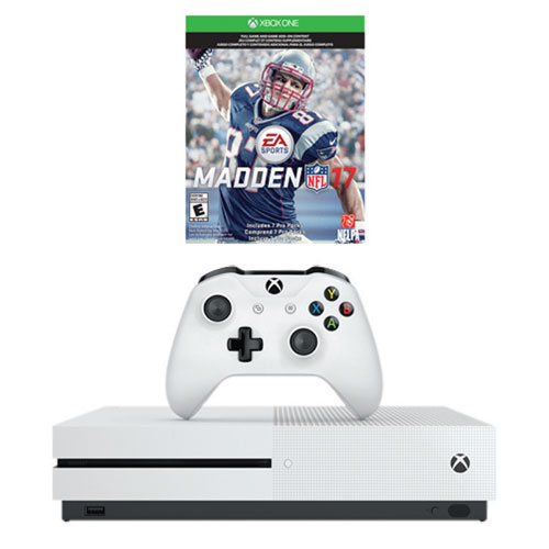 Xbox One S 1TB Madden NFL 17 Bundle : Xbox One Consoles - Best Buy ...