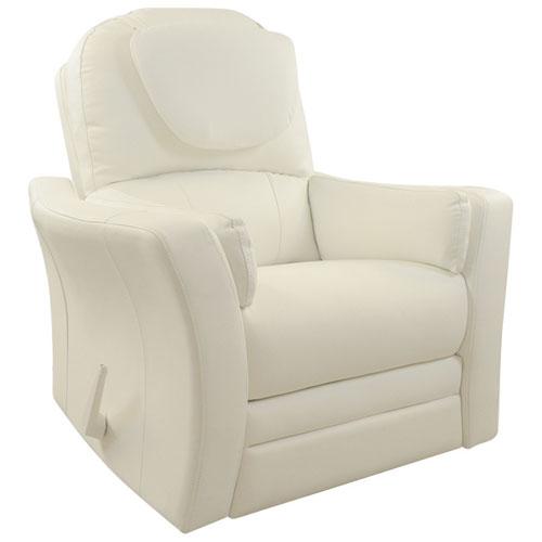 Kidiway Ergo Reclining Glider   White : Glider Chairs U0026 Rockers   Best Buy  Canada