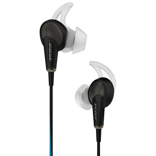 Bose QuietComfort 20 In-Ear Noise Cancelling Headphones with Mic (Samsung/Android) - Black
