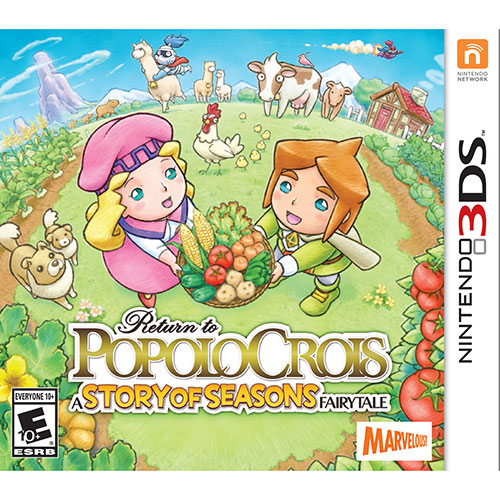 Return To PopoloCrois: A Story Of Seasons Fairytale (3DS) - Anglais