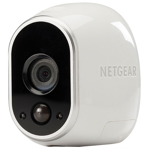 NETGEAR Arlo Indoor/Outdoor 720p Add-On IP Camera - White
