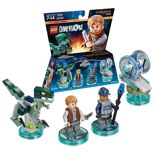 LEGO Dimensions Jurassic World Team Pack