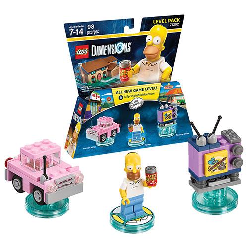 Ensemble Niveau Simpsons de LEGO Dimensions