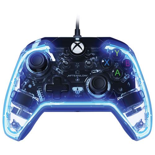 Manette avec fil Afterglow Prismatic de PDP pour Xbox One