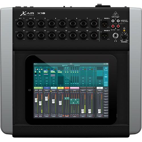 Behringer X AIR 18-Channel Digital iPad/Tablet Mixer (X18)