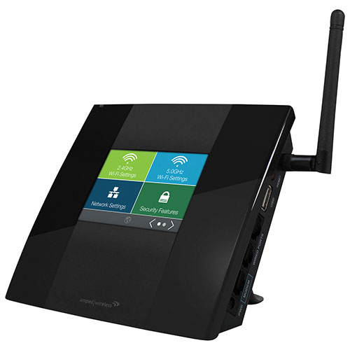 Routeur à écran tactile AC750 d'Amped Wireless (TAPR2-CA)