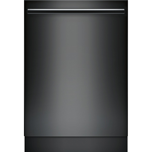 "Bosch 24"" 46 dB Built-In Dishwasher with Stainless Steel Tub (SHX5AV56UC) - Black"