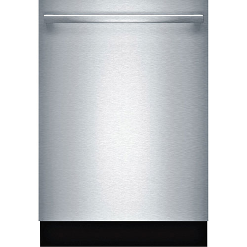 """Bosch 24"""" Built-In Dishwasher with Stainless Steel Tub (SHX5AV55UC) - Stainless Steel"""