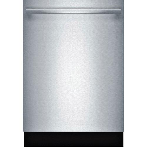 Lave-vaisselle encastrable 24 po de Bosch avec cuve acier inoxydable (SHX5AV55UC) - Inox