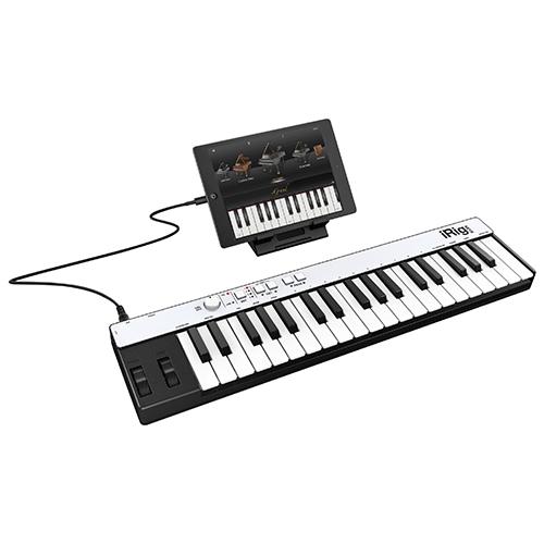Contrôleur MIDI iRig KEYS d'IK Multimedia (iPad/iPhone/iPod touch/Mac) (IP-IRIG-KEYSLGT-IN)