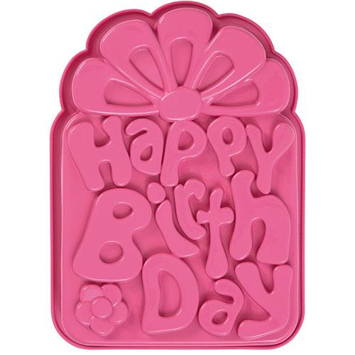 Happy Birthday Silicone Mold