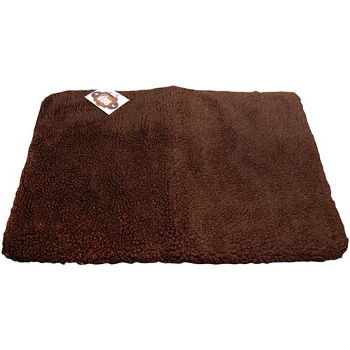 DanaZoo Crate Liner Pet Bed - Large - Brown