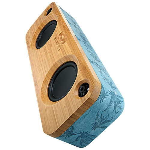 Haut-parleur sans fil Bluetooth Get Together de House of Marley - Bleu