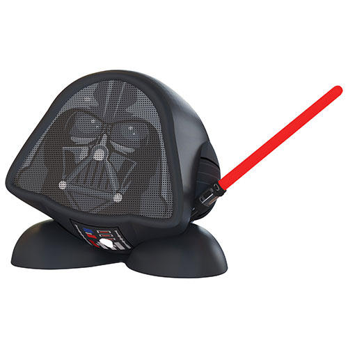 KIDdesigns Darth Vader Bluetooth Wireless Speaker - Black
